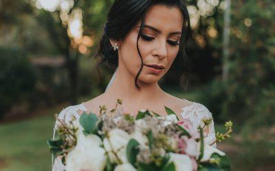 O buquê da noiva no casamento