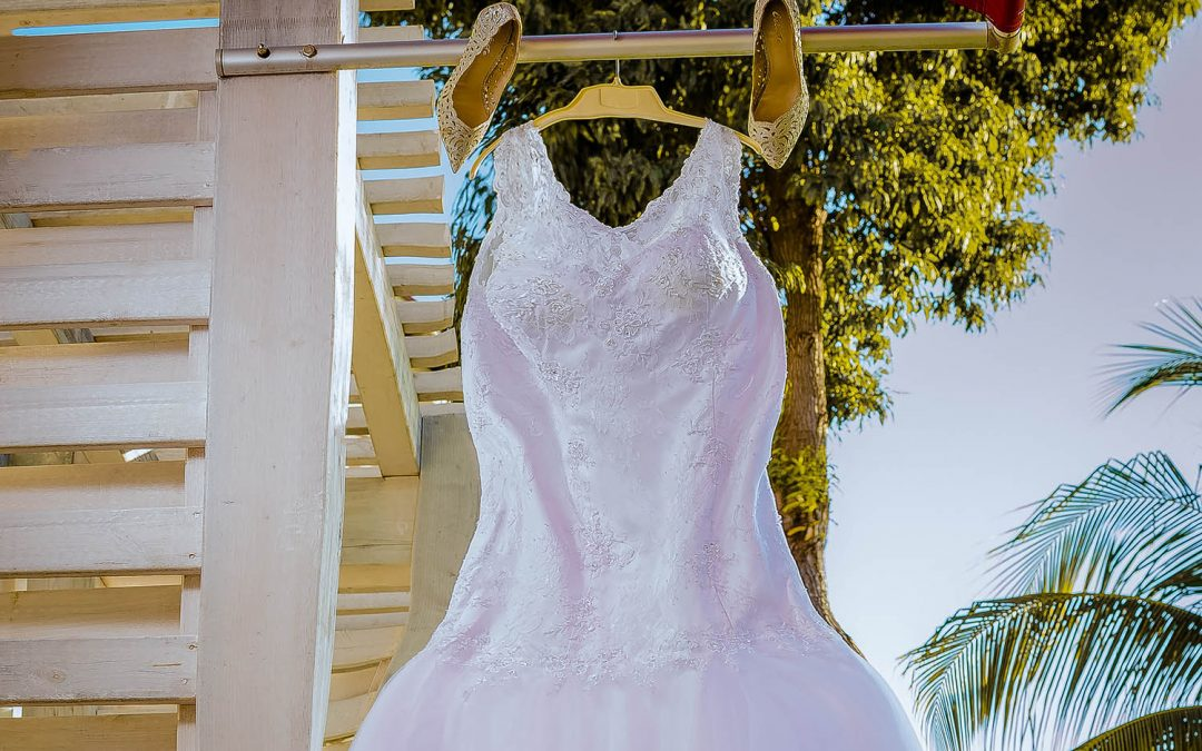 O vestido de noiva no casamento