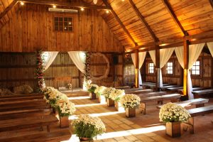 organizar cerimonia religiosa realizada no celeiro