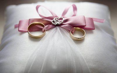 A celebração das bodas de casamento
